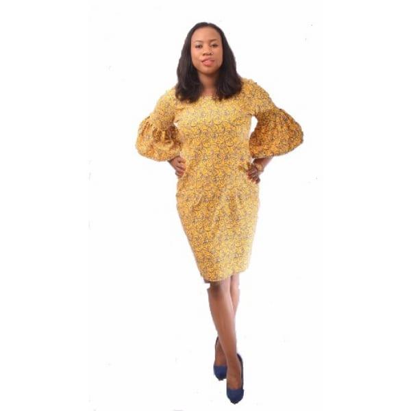 /L/a/Ladies-Crepe-Dress-With-Flounce-Sleeve---Multicolour-7971572_1.jpg