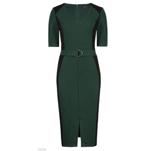 /L/a/Ladies-Fitted-Dress---Green-7821586_1.jpg
