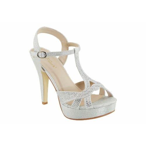 3e23075a127  L a Ladies-Heeled-Sandal---Silver-7890462