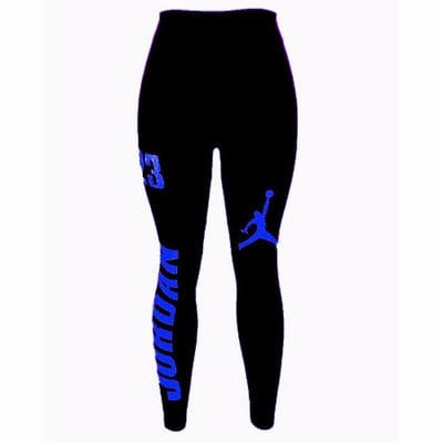 d56f6bdd952 Jordan Ladies Leggings - Black & Blue | Konga Online Shopping