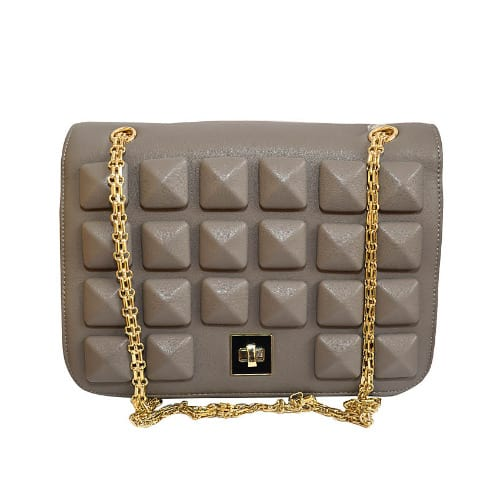 cd782def7  L a Ladies-Mini-Chain-Bag-Grey-6760558