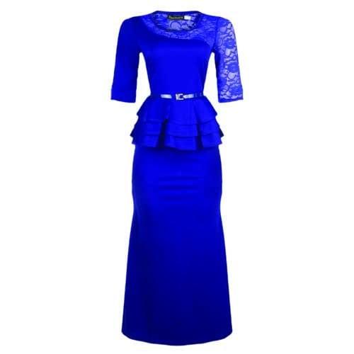 a841553b27 Turkish Wear Ladies Maxi Dress Navy Blue | Konga Online Shopping