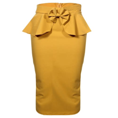 /L/a/Ladies-Peplum-Midi-Skirt-With-Bow-Front-Detail--Mustard-Yellow-7507658_1.jpg
