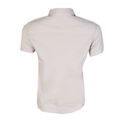 b2c29b42d11 Ladies  Plain Short Sleeve Shirt - Off White
