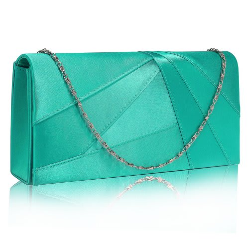 44942d8f432fe Ladies Satin Clutch Bag - Emerald Green | Konga Online Shopping