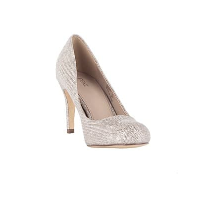 78489890af Next Ladies Shimmer Round Toe Court Shoes