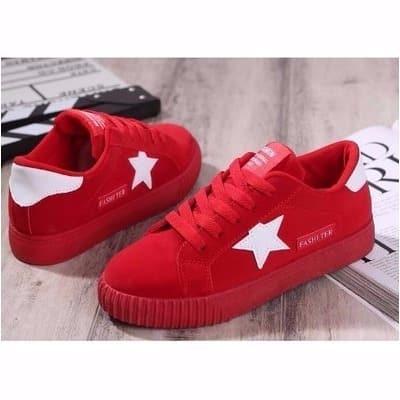 Ladies Sneakers - Red   Konga Online