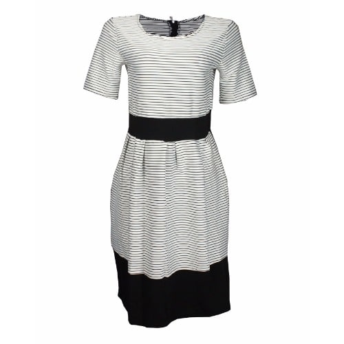 /L/a/Ladies-Stripe-Short-Sleeve-Flared-Dress---White-Black-5282987_2.jpg