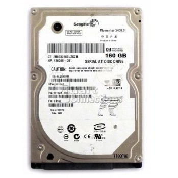 Seagate Laptop Internal SATA Hard Drive - 160GB Momentus