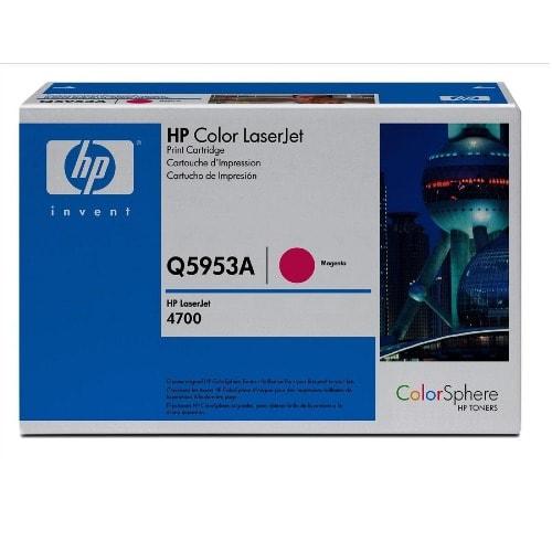 LaserJet Q5953A Magenta Print Cartridge Toner - 4700 Series