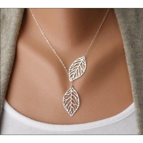 /L/e/Leaflet-Necklace---Silver-6621237.jpg