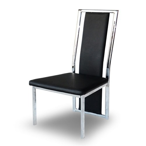 Enjoyable Leather Chair With Steel Frame 6Pieces Unemploymentrelief Wooden Chair Designs For Living Room Unemploymentrelieforg