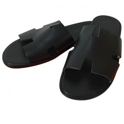 ab22f6205 Male Cross Strap Leather Pam Slippers | Konga Online Shopping