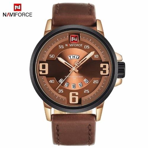 /L/e/Leather-Water-Resistant-Quartz-Wristwatch---Brown-7914733.jpg