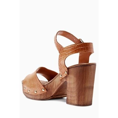 1d1088a3f ...  L e Leather-Wood-Look-Sandals---Tan ...