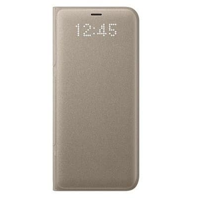 huge selection of 284ed 33a43 Led View Flip Cover For Samsung Galaxy S8 Plus - Gold