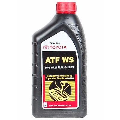 Toyota Automatic Transmission Fluid Type T-IV - 4 Litres