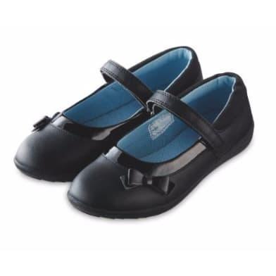 Lily   Dan Girls School Shoe - Black  90a657418170