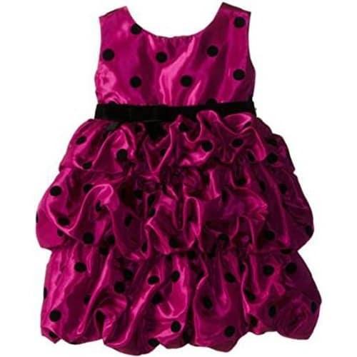 /L/i/Little-Girls-Dot-Print-Flocked-Bubble-Dress---Cerise-6036323_1.jpg