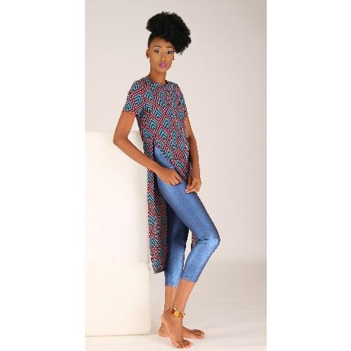 /L/o/Long-Line-Side-Split-Top-with-Short-Sleeves-Blue-Pink-5384276_4.jpg