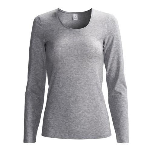 46617c54308c Danami Longsleeve Cotton Round Neck Shirt - Grey   Konga Online Shopping