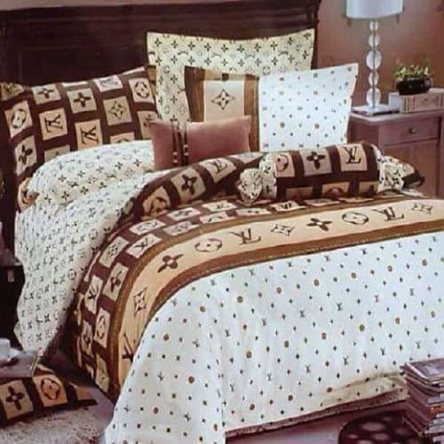 Louis Vuitton Inspired Bedsheet Multicolour Konga Online Shopping