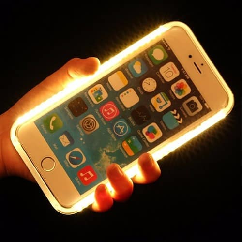 led case for iphone 7