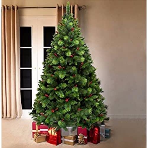 best service 56abc b26ad Luxury Christmas Tree - Green - 6ft