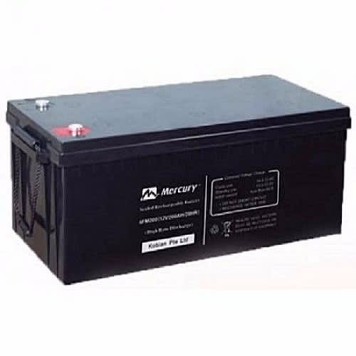12v, 200AH VRLA AGM Deep Cycle Series Inverter Battery