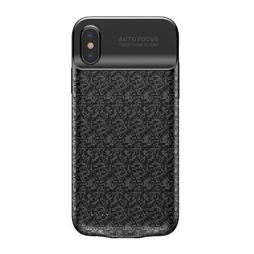 timeless design c3d04 d3cf3 iPhone X 3500mah Battery Charging Case,ultra Slim Backpack Extended - Black