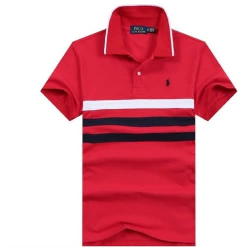 4b4f454a Tapout Men's Poly Polo Shirt-Red and Grey | Konga Online Shopping