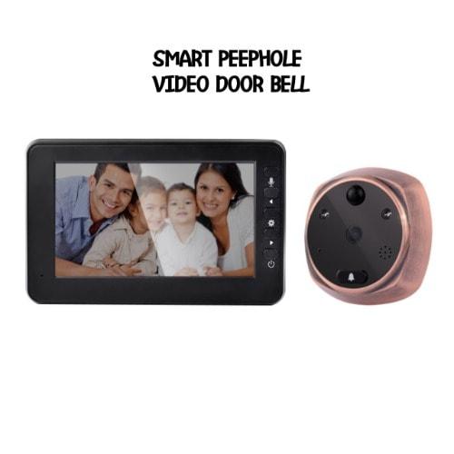 Caleocom Doorbell Smart Video Peephole Viewer