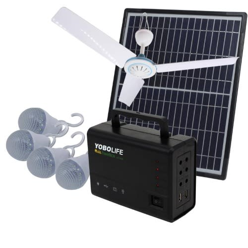 Solar Home System With Ceiling Fan