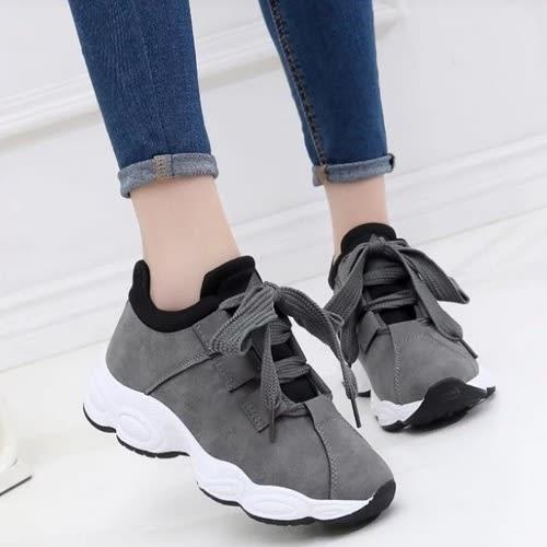 d6555f08dd Women's Lace-up Sneakers - Grey | Konga Online Shopping