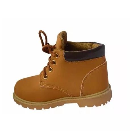 Boys Casual Boots - Brown   Konga