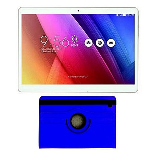 "RC Mobile 10"" - 3G Tablet - 2GB RAM - 16GB Memory With Stylus Pen & Rotating Leat"