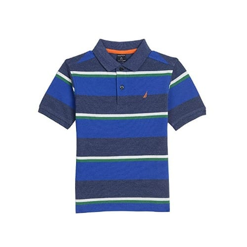 45796e18c368e0 Nautica Boy's Short Sleeve Striped Deck Polo Shirt | Konga Online ...