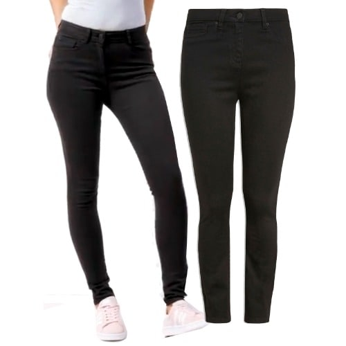 cheap for discount super cheap compares to value for money Black Soft Touch Skinny Fit Jeans