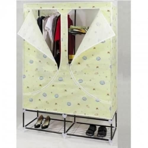 Mobile Wardrobe With Shoe Rack