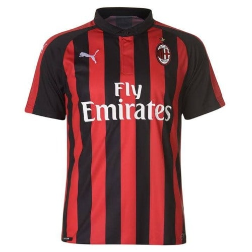 differently 80957 e403c Ac Milan Home Shirt 2018 2019