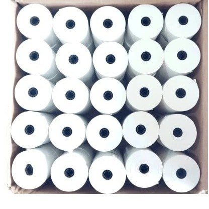 Thermal Pos Printing Paper - 80mm X 80mm - 25 Rolls