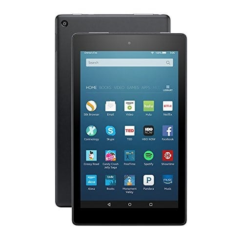 Fire HD 8 Tablet With Alexa - Black