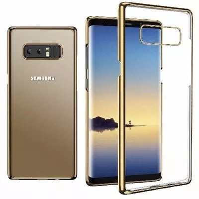 Protective Back Case For Samsung Galaxy Note 8 - Gold