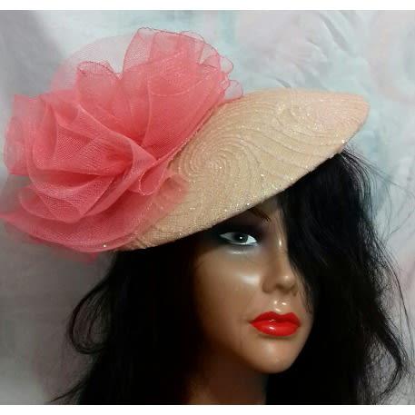 ea2d64a5 Custom Peach And Coral Fascinator | Konga Online Shopping