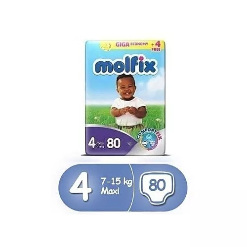 Baby Diaper- 80 Pieces