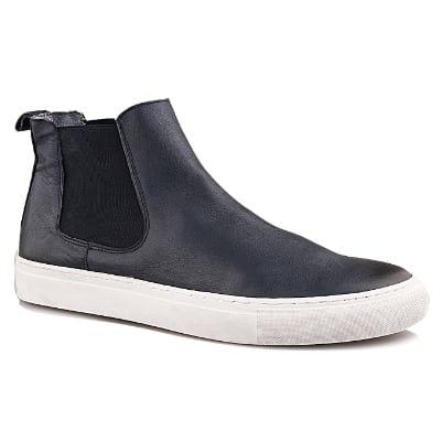 77d1c4ca24d Men's Ludlow Leather Ankle Shoe - Navy