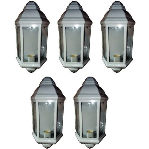 5 Pieces Beautiful Outdoor Wall Lamp & Fence Light