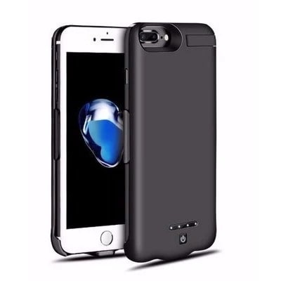 on sale 80e1d 5ab11 Powerbank Case For iPhone 8 Plus/7 Plus - Black