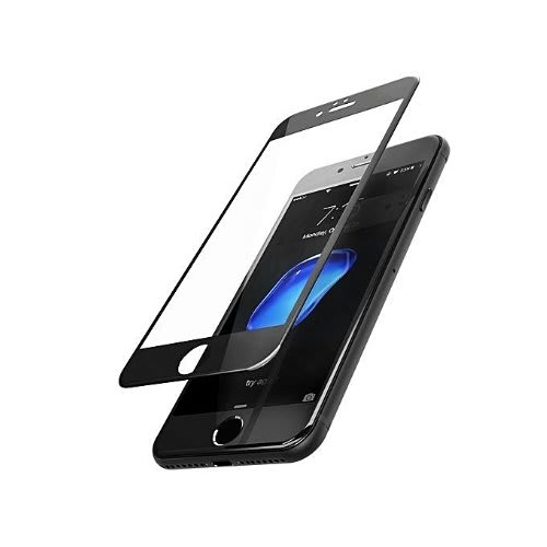new style 03e73 926b7 Apple Iphone 8 Screen Protector, F-color Black Iphone 8 Tempered ...