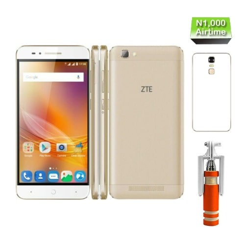 buy popular e8a86 3c51c A610 Plus 5.5-inch (4gb, 32gb) 5000MAH Battery, Phone Case, Selfie Stick  And N1,000 Airtime - Gold
